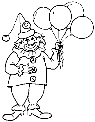 Pin coloriage diddl 31 on pinterest - Clown coloriage ...