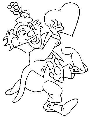 Coloriage Coloriage Coloriage Clown Clown Original