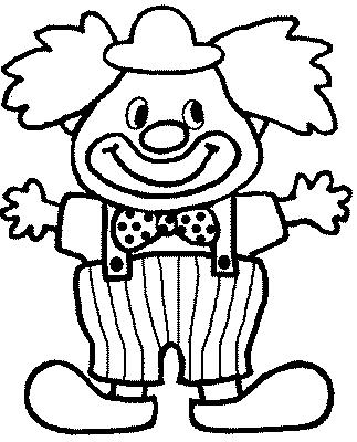 Coloriage Clown Drole.Coloriage Coloriage Coloriage Clown Clown Heureux