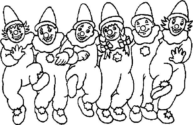 Coloriage Clown Drole.Coloriage Coloriage Coloriage Clown Coloriages Clown