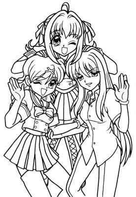 Imprimer Le Dessin Imprimer Le Dessin Coloriage Manga Sirene