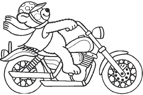 Dessin moto - Dessin de moto cross ...