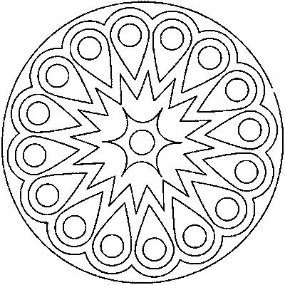 Coloriage Coloriage Coloriagemandalachinois Mandala