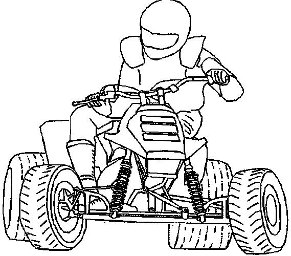 квадроцикл honda #11