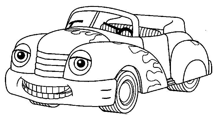 Coloriage Voiture De Course Hot Wheels Imprimer Le Coloriage